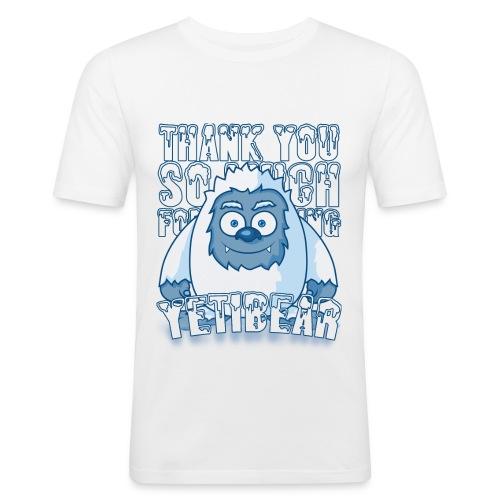 Yeti Design - slim fit T-shirt