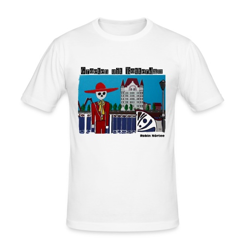 witte_huis - slim fit T-shirt