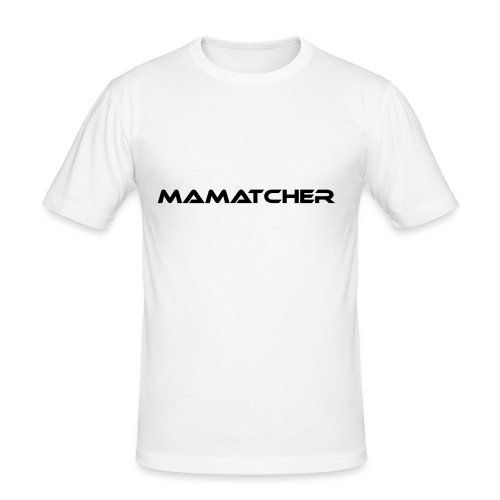 MaMatcher - Männer Slim Fit T-Shirt