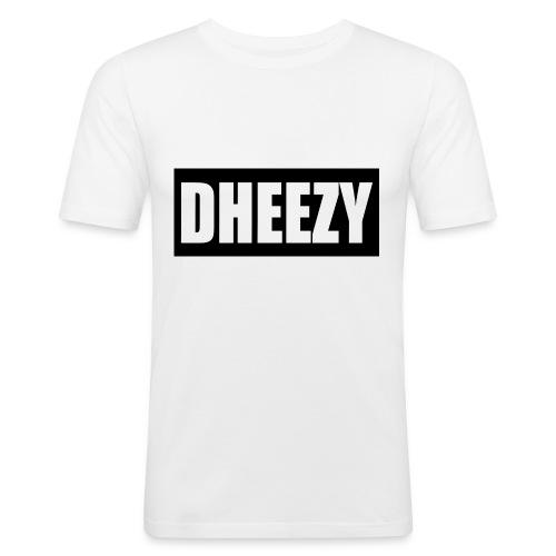 DHEEZY_logo_1 - Men's Slim Fit T-Shirt