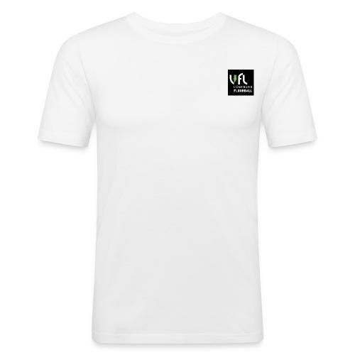 Logo VfL Lüneburg Floorball - Männer Slim Fit T-Shirt