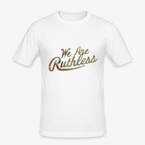 RsC we are ruthless - Men's Slim Fit T-Shirt