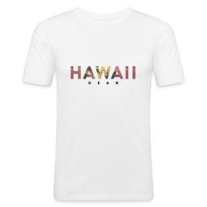 Hawaii-Sunset - Männer Slim Fit T-Shirt