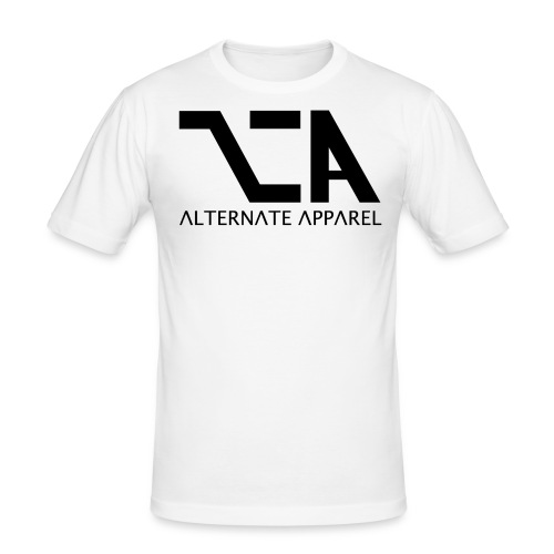 Alt A - Logo 1 - Men's Slim Fit T-Shirt