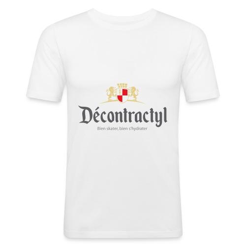 skateboard decontractyl - T-shirt près du corps Homme