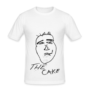 The Cake - Men's Slim Fit T-Shirt
