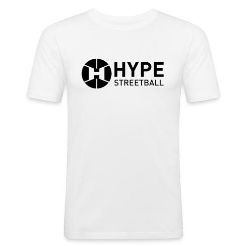 DC HYPE 001 Logo Official FINAL Black HORI - Men's Slim Fit T-Shirt
