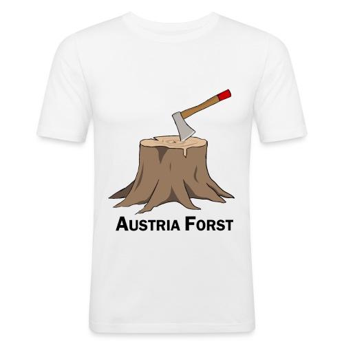 Baumstumpf - Männer Slim Fit T-Shirt