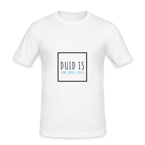 Dorfleibal | Duid Is - Männer Slim Fit T-Shirt