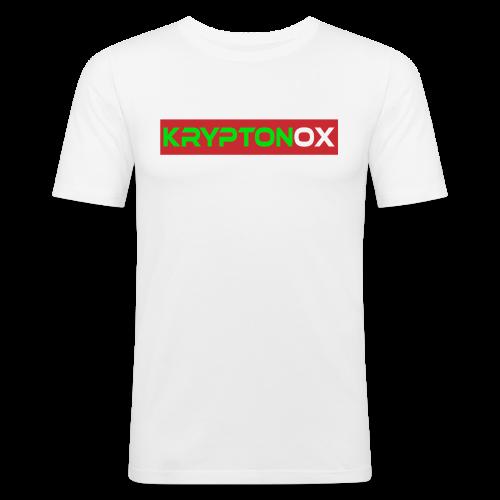 Kryptonox Logo - Men's Slim Fit T-Shirt
