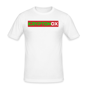 Kryptonox Logo - Men's Slim Fit T-Shirt