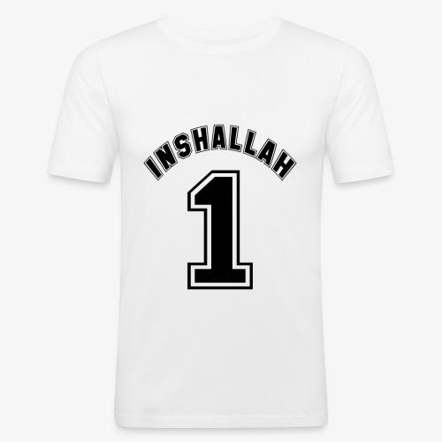 Inshallah 1 - Männer Slim Fit T-Shirt