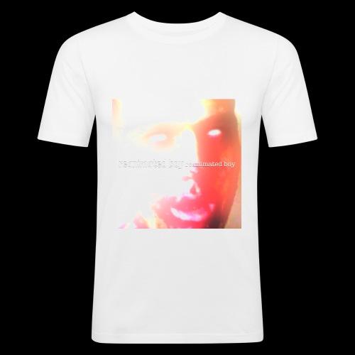 Reanimated boy single cover - Men's Slim Fit T-Shirt