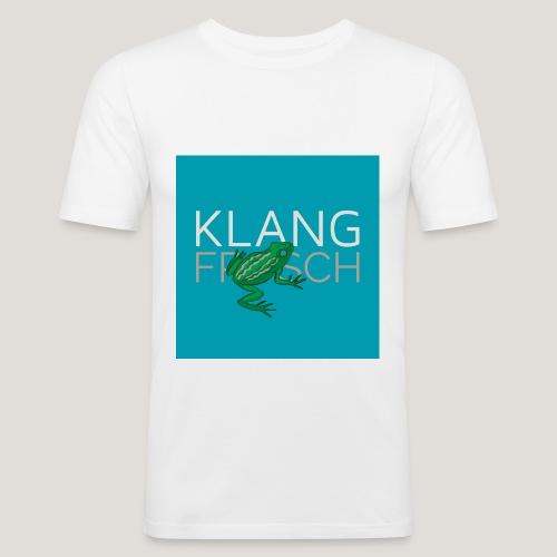 Klangfrosch - Männer Slim Fit T-Shirt