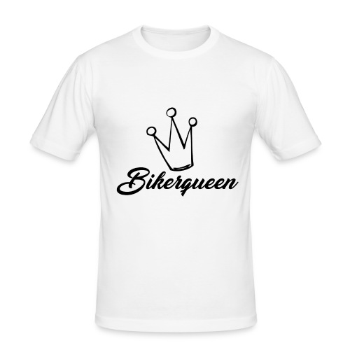 Bikerqueen - Männer Slim Fit T-Shirt