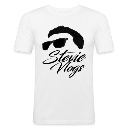 Stevie Vlogs Logo - Men's Slim Fit T-Shirt