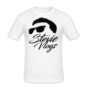 Stevie Vlogs Logo - Men's Slim Fit T-Shirt