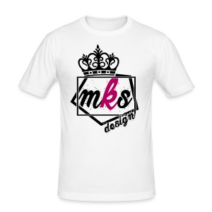 logo merkos grande - Camiseta ajustada hombre