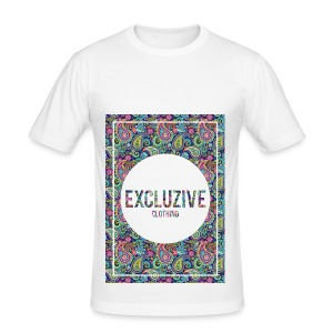 Colour_Design Excluzive - Men's Slim Fit T-Shirt