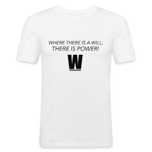 Willpower Science - Men's Slim Fit T-Shirt