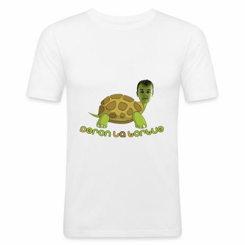 T-shirt Peron la tortue classique - T-shirt près du corps Homme