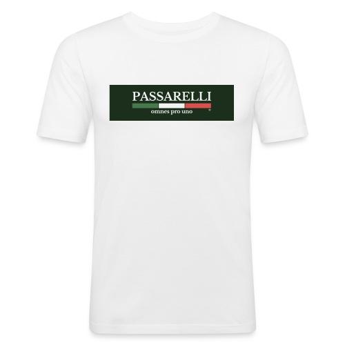 PASSARELLI - Maglietta aderente da uomo