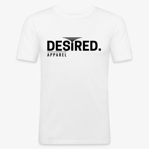 Desired Apparel Logo Series - Männer Slim Fit T-Shirt
