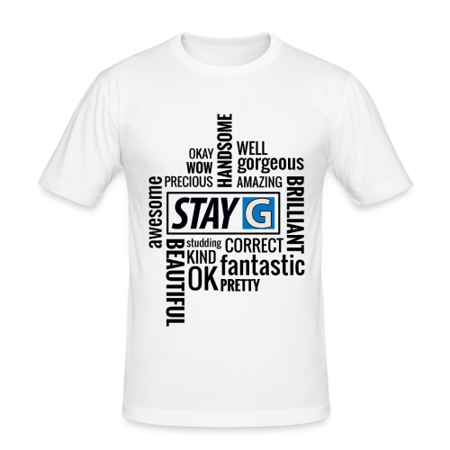 StayG One - Männer Slim Fit T-Shirt