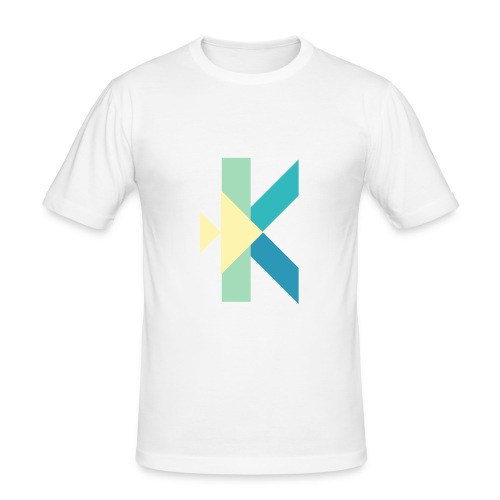 Konstantin T Music Merch - Männer Slim Fit T-Shirt