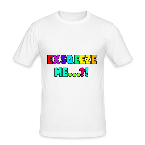 Wunzee T-Shirt Design - Men's Slim Fit T-Shirt