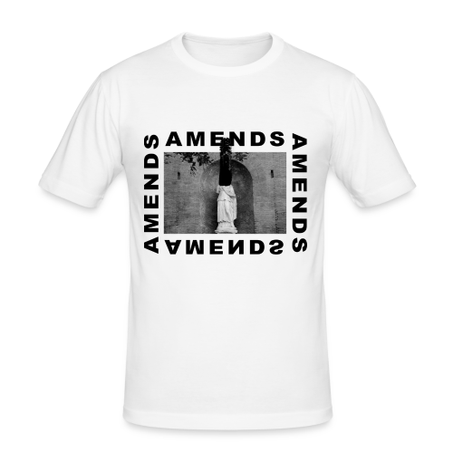 AMENDS - Slim Fit T-shirt herr