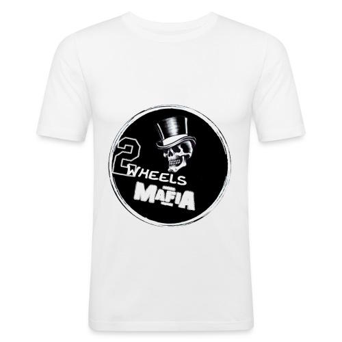 2WheelsMafia - Männer Slim Fit T-Shirt