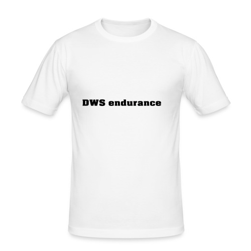 DWS black - Men's Slim Fit T-Shirt