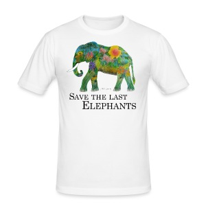 Save The Last Elephants - Männer Slim Fit T-Shirt