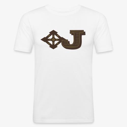 Jambo Airways Logo - Men's Slim Fit T-Shirt