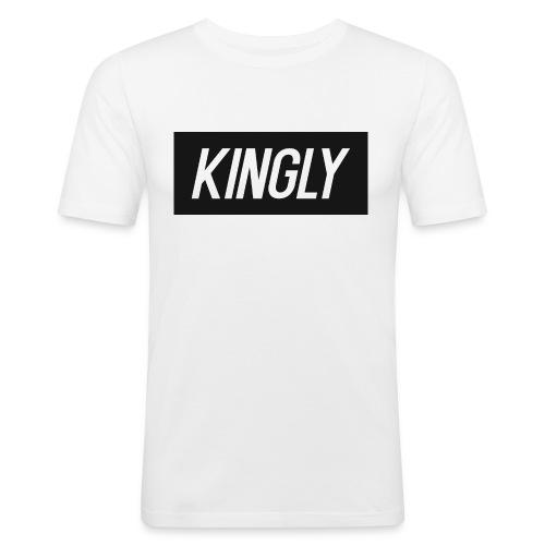 Kingly Basic Motive - Men's Slim Fit T-Shirt