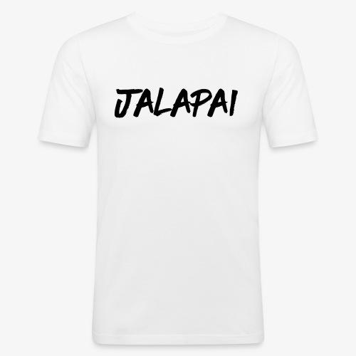 JalapaiSchrift1 - Männer Slim Fit T-Shirt
