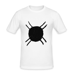 Fredje white shirt - slim fit T-shirt