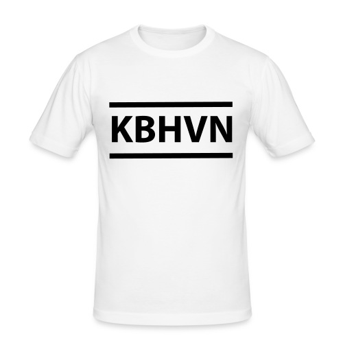 KBHVN 06 01 - Herre Slim Fit T-Shirt