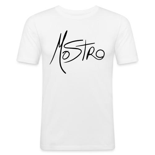 Monster BIG Logo - Men's Slim Fit T-Shirt
