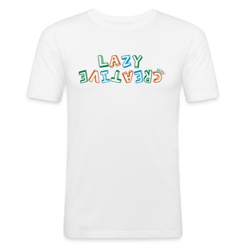 LC PUM Org logo White - Slim Fit T-shirt herr