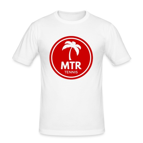 MTR Tennis RED - Men's Slim Fit T-Shirt
