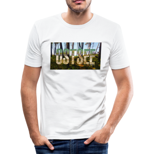 Ostsee - Männer Slim Fit T-Shirt