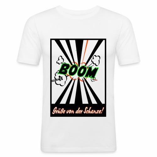 Schanzengruß - Männer Slim Fit T-Shirt