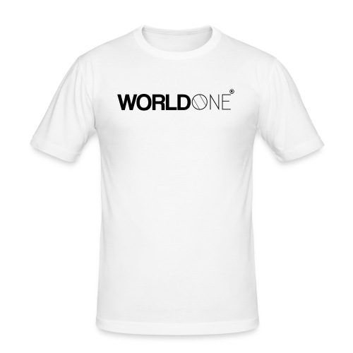 WorldØne© - T-shirt près du corps Homme