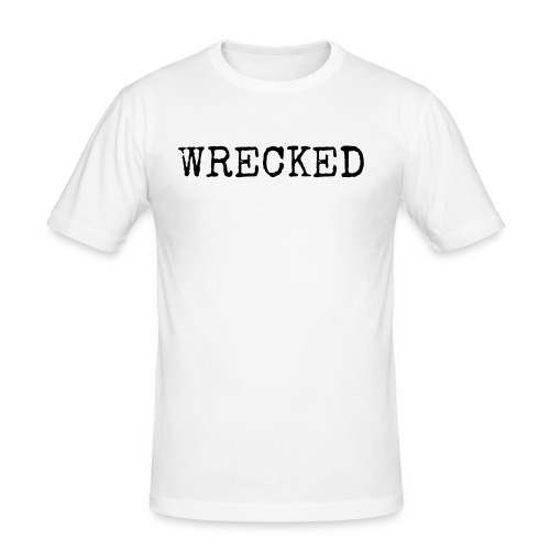 WRECKED - Men's Slim Fit T-Shirt
