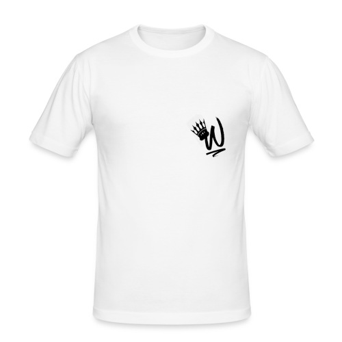 ItzWilz Official White T-Shirt - Men's Slim Fit T-Shirt