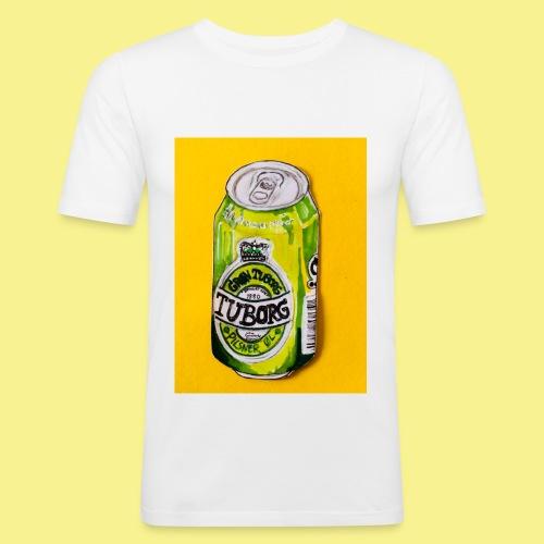 Gul Øller's - Herre Slim Fit T-Shirt
