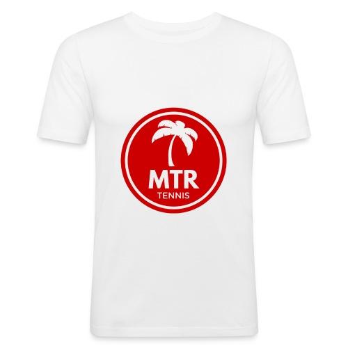 MTR Tennis RED - Men's Slim Fit T-Shirt