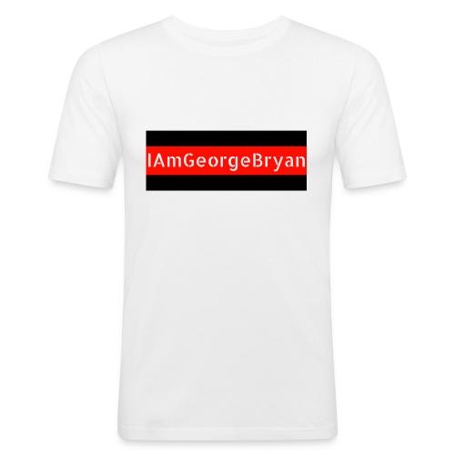 IAmGeorgeBryan Stencil - Men's Slim Fit T-Shirt